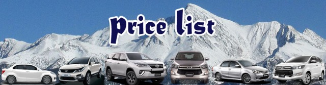 chandigarh delhi manali taxi price