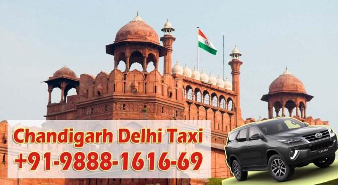 Chandigarh Delhi Taxi