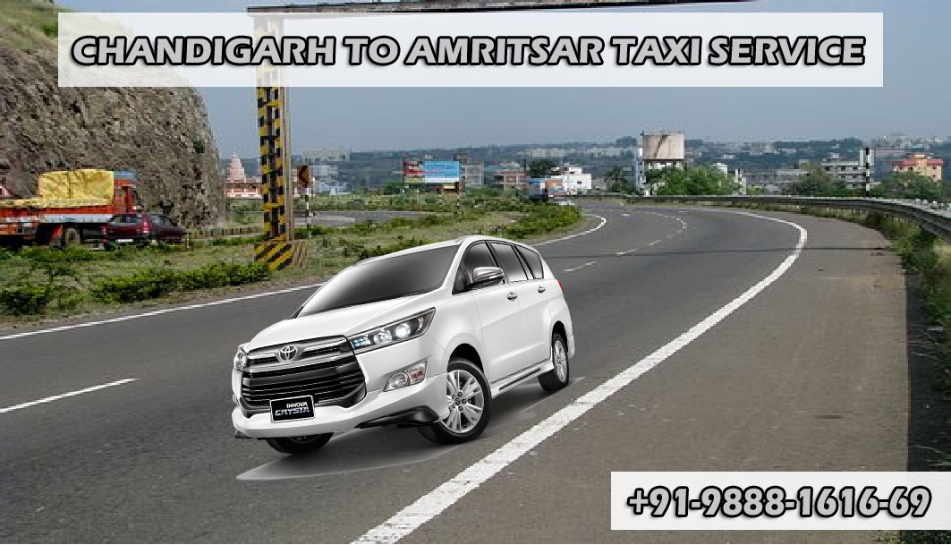 chandigarh to amritsar taxi service