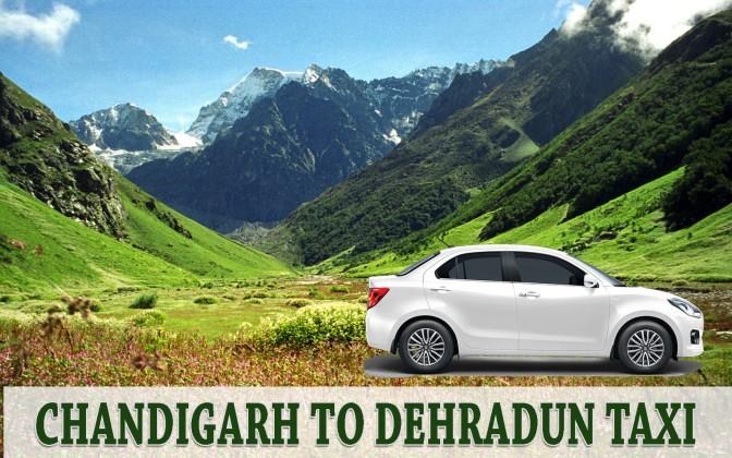 Chandigarh Dehradun Taxi