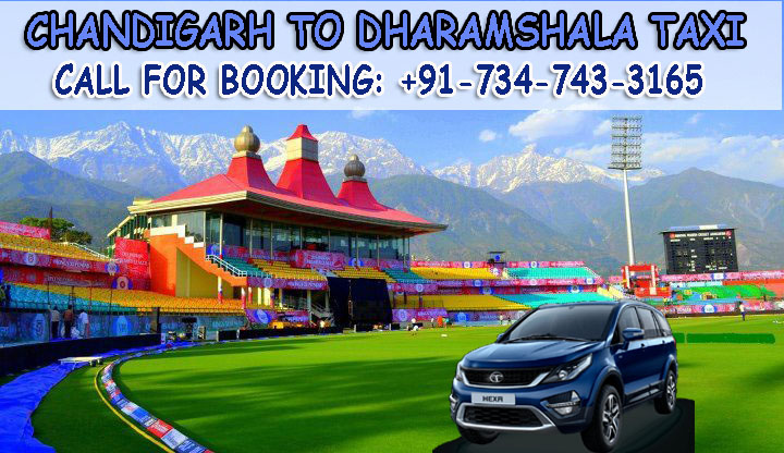 Chandigarh se Dharamshala taxi service
