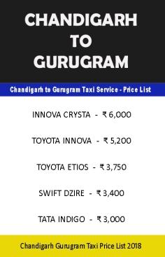 taxi service in chandigarh gurgaon delhi noida mohali panchkula