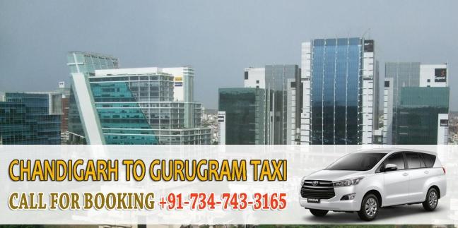 chandigarh to gurugram taxi