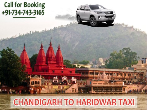 chandigarh to haridwar taxi