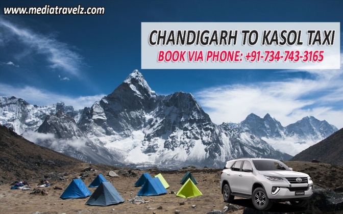 Chandigarh to Kasol Taxi