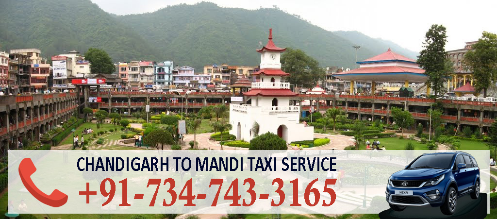 chandigarh to mandi taxi service