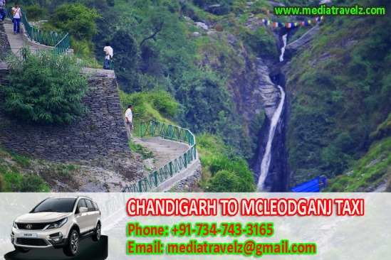 chandigarh to mcleodganj taxi