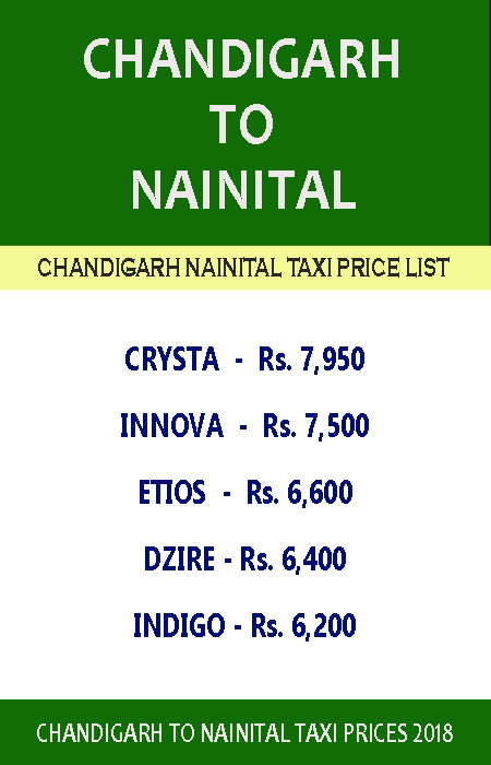 chandigarh to nainital taxi price list.jpg