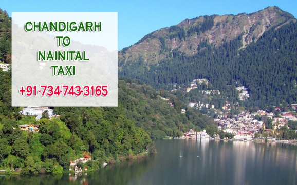 chandigarh to nainital taxi