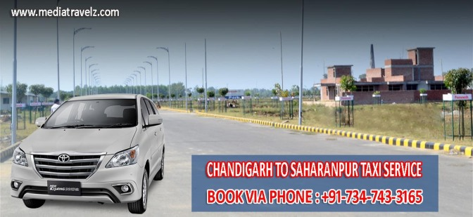 Chandigarh to Saharanpur Taxi Service