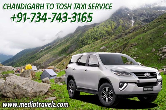 chandigarh to tosh taxi service