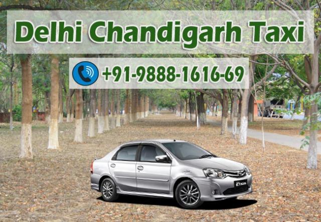 delhi chandigarh taxi