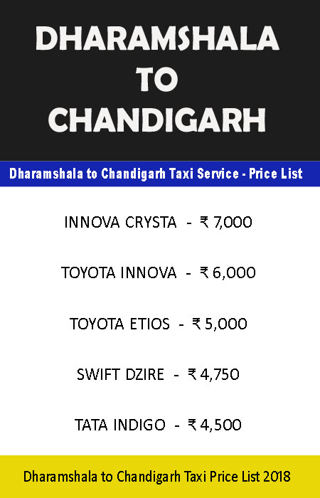 Taxi from Chandigarh to Dharamshala dalhousie