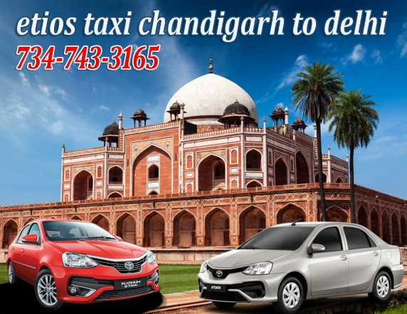 etios taxi chandigarh to delhi