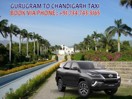 gurugram to chandigarh taxi