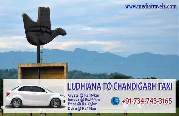 ludhiana to chandigarh taxi