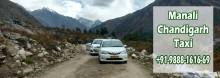 Chandigarh to Manali Shimla taxi service