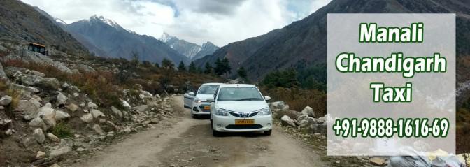Manali Chandigarh Taxi
