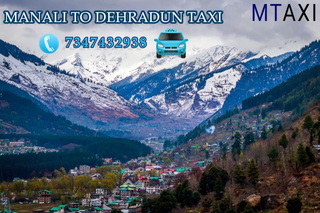 manali to dehradun taxi
