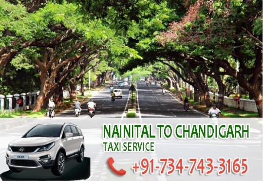 nainital to chandigarh taxi