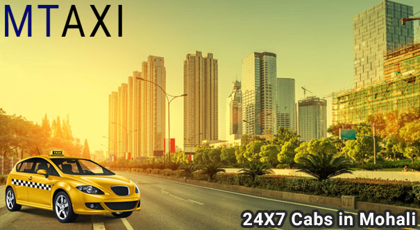 contact local cab service in mohali