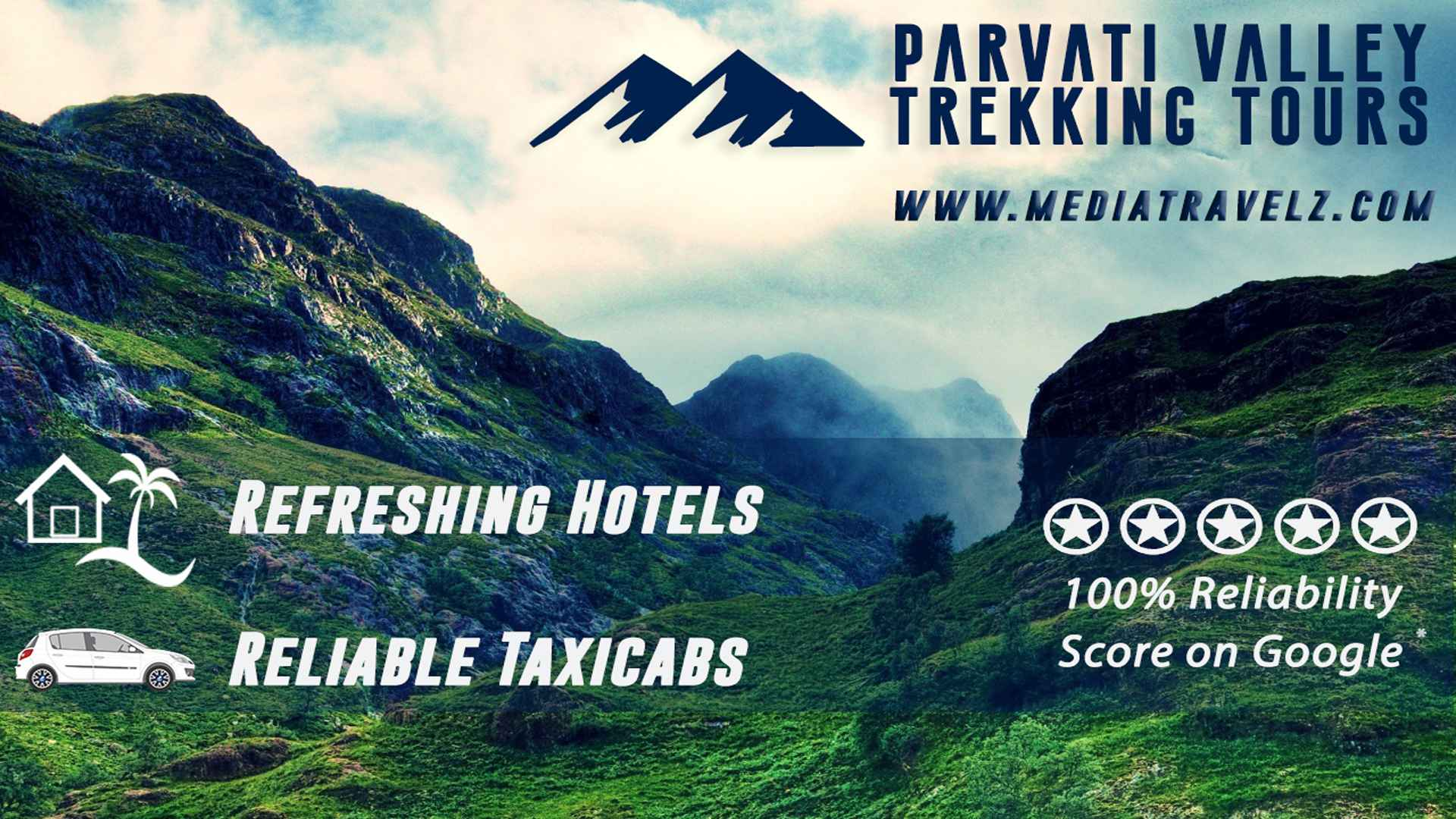 parvati valley trekking tours by mediatravelz