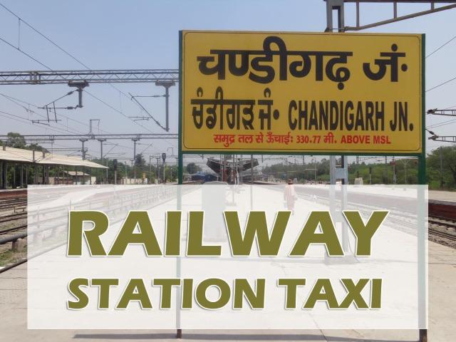 chandigarh railway station taxi service