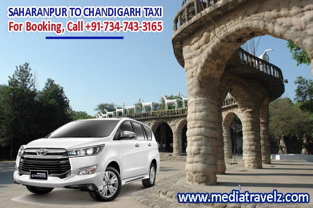 Saharanpur to Chandigarh Taxi Service