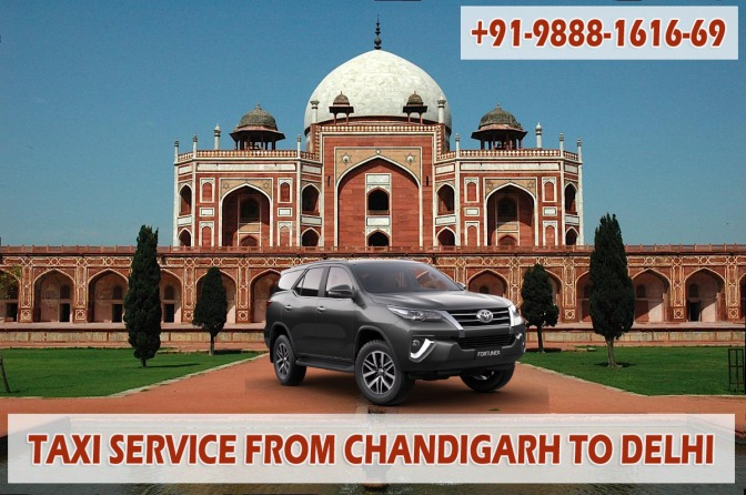 Taxi Service from Chandigarh to Delhi