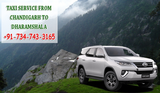 taxi service from chandigarh to dharamshala