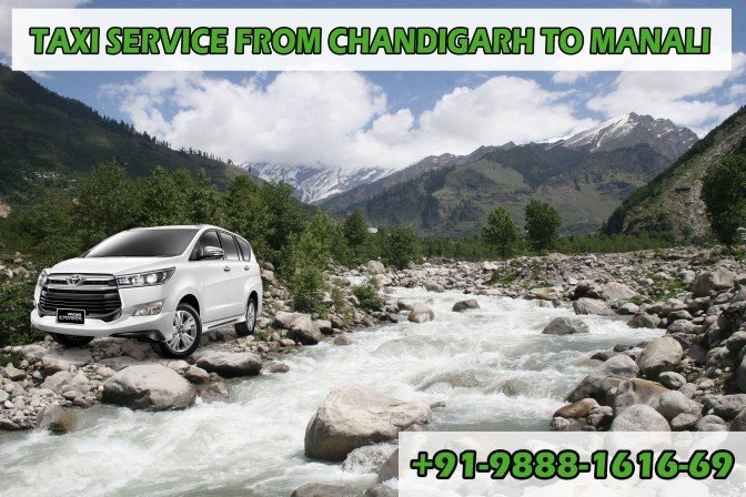 Taxi Service from Chandigarh to Manali