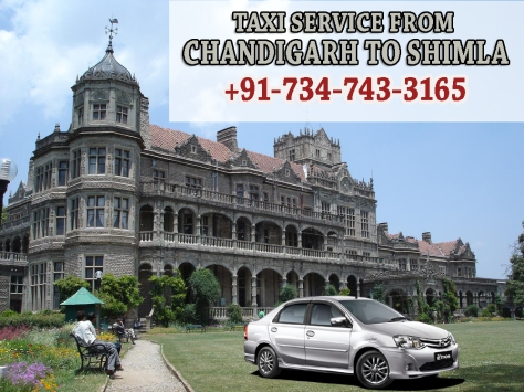 taxi service from chandigarh to shimla