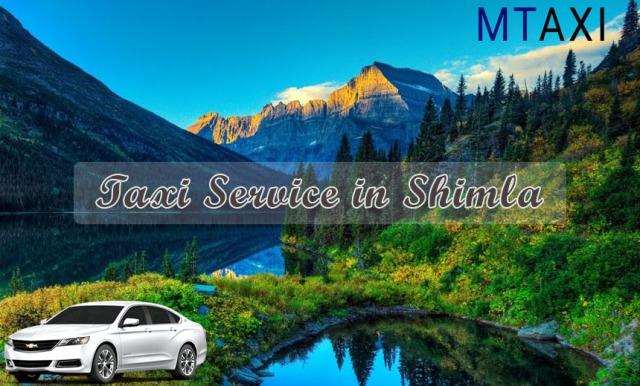 taxi service in shimla