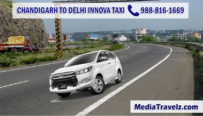 Chandigarh to Delhi Airport Innova Taxi