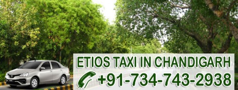 etios taxis chandigarh