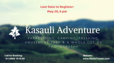 Kasauli Adventure