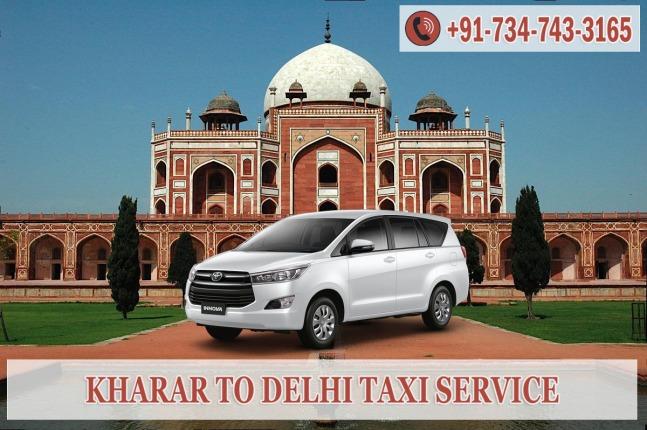 kharar to delhi taxi service