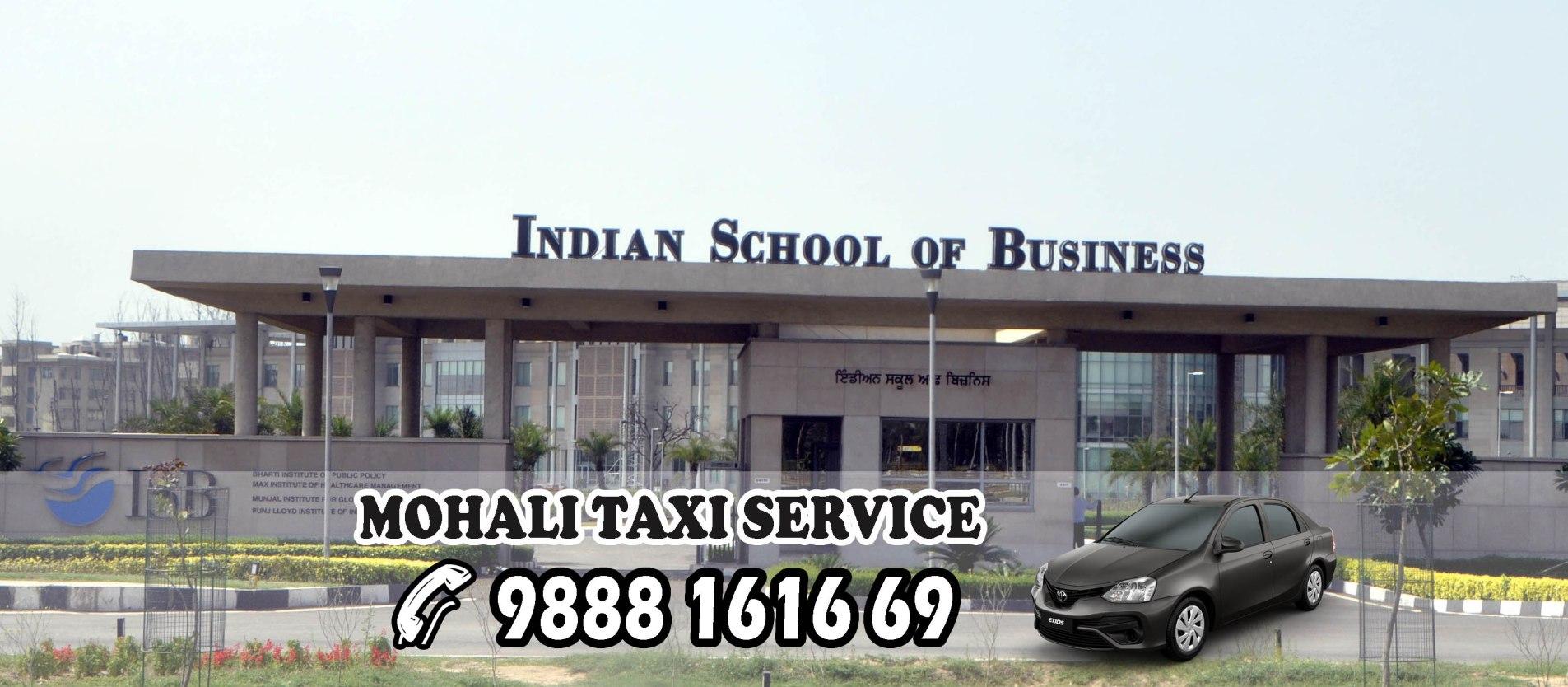 mohali taxi service