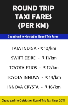 taxi for outstation in chandigarh