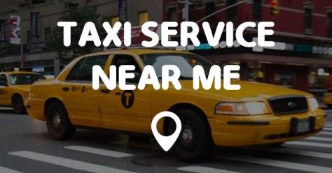 taxi service near me