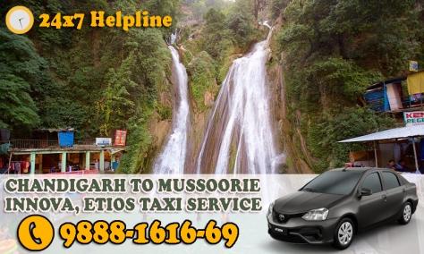 chandigarh mussoorie taxi service