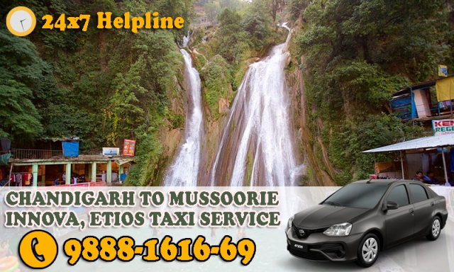 chandigarh mussoorie taxi service