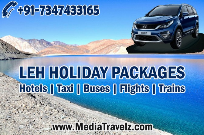 Leh Ladakh Holiday Packages from Chandigarh