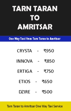 tarn taran to amritsar taxi