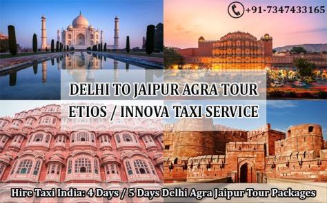 delhi airport to jaipur agra taxi tour