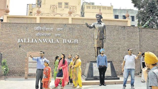 local sightseeing in amritsar jallianwala bagh chandigarh taxi service