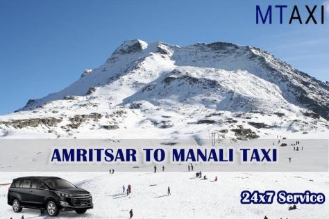 amritsar to manali taxi