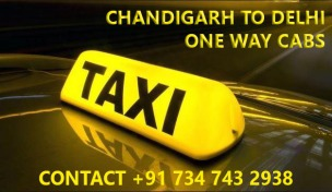 chandigarh delhi one way innova taxi