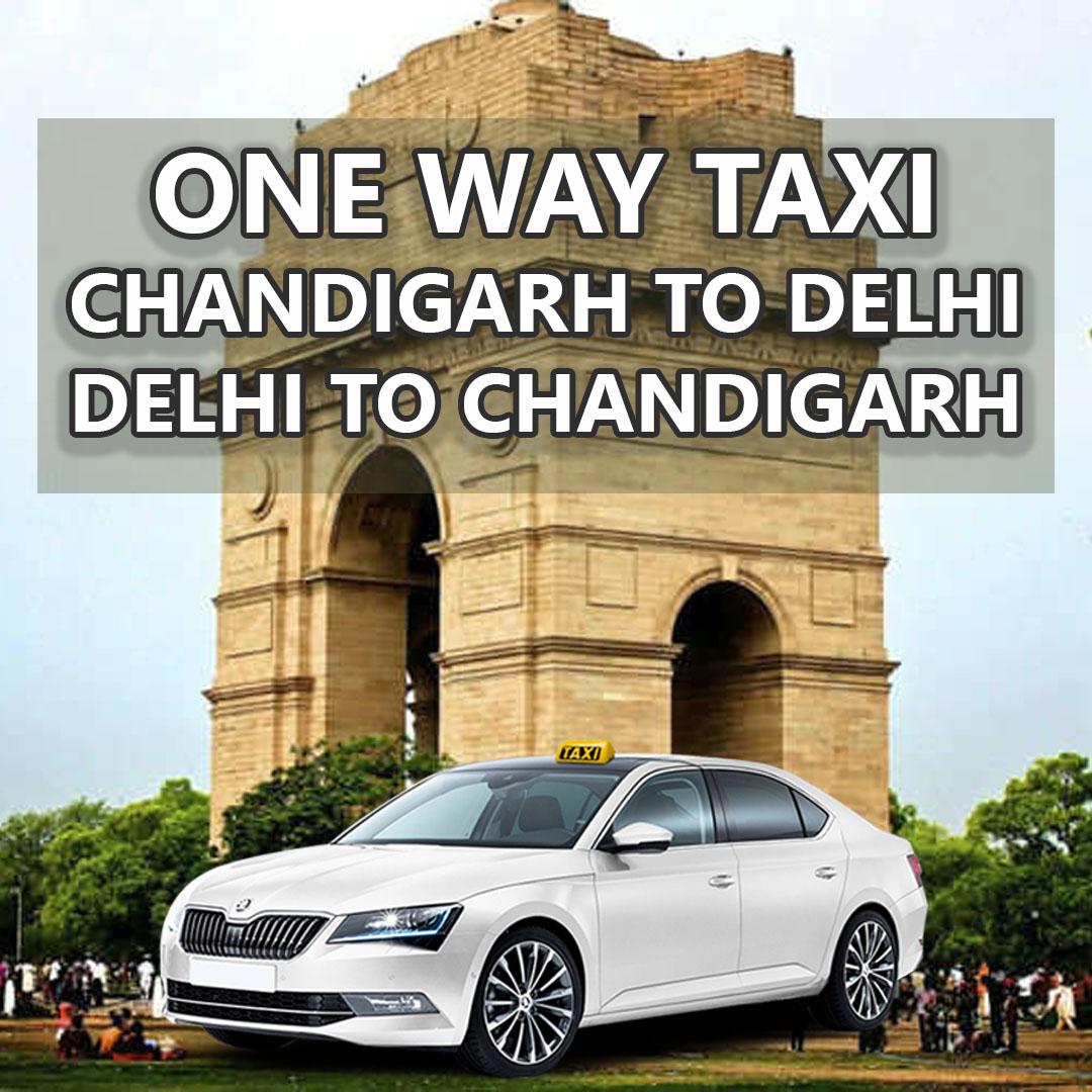 delhi chandigarh taxi service one way etios innova crysta fortuner