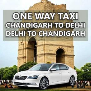 chandigarh delhi one way taxi